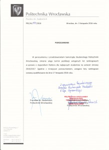 Porozumienie ws. terminu wstępnych list rankingowych